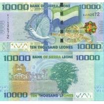 Сьерра-Леоне 10000 леоне 2010 год.