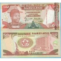 Свазиленд 50 эмалангени 2001 год.