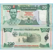 Свазиленд 200 эмалангени 2008 год. Юбилейная.