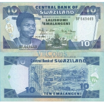 Свазиленд 10 эмалангени 2006 год.