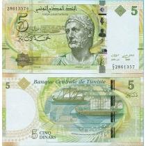 Тунис 5 динар 2013 г.