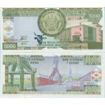 Бурунди 5000 франков 2005 год.