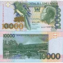 Сан Томе и Принсипи 10000 добра 2013 год.