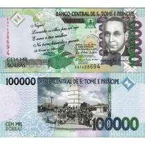 Сан Томе и Принсипи 100000 добра 2010 г.