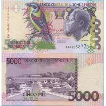 Сан Томе и Принсипи 5000 добра 2013 год.