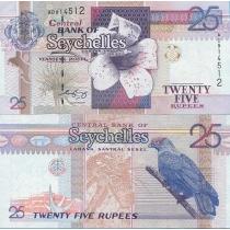 Сейшельские острова 25 рупий 1998 год.