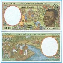 Центральная Африка 1000 франков 2000 год. Экваториальная Гвинея.