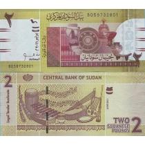 Судан 2 фунта 2011 год.
