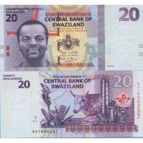Свазиленд 20 эмалангени 2010 год.