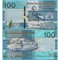 Гамбия 100 даласи 2019 год.