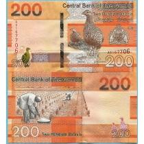 Гамбия 200 даласи 2019 год.