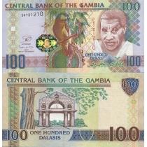 Гамбия 100 даласи 2013 г.