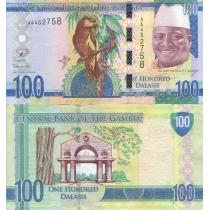Гамбия 100 даласи 2015 год.