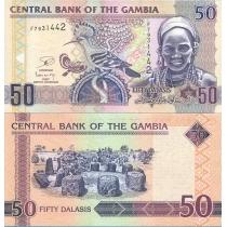 Гамбия 50 даласи 2013 год.