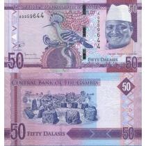 Гамбия 50 даласи 2015 г.