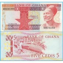 Гана 5 седи 1982 год.