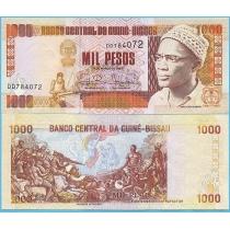 Гвинея-Бисау 1000 песо 1993 год.
