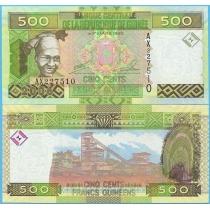 Гвинея 500 франков 2006 год.