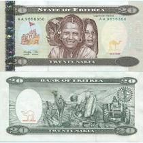 Эритрея 20 накфа 1997 год