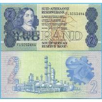 Южная Африка 2 ранда 1983-1990 год.