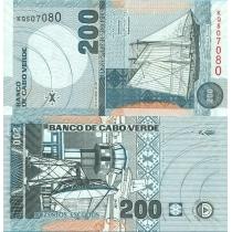Кабо Верде 200 эскудо 2005 г.