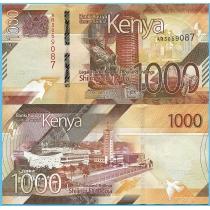 Кения 1000 шиллингов 2019 год.