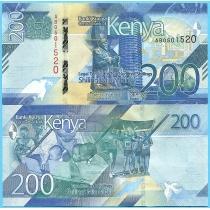 Кения 200 шиллингов 2019 год.