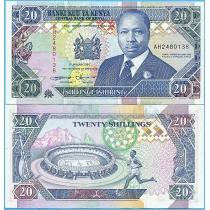 Кения 20 шиллингов 1994 год.