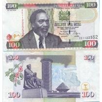 Кения 100 шиллингов 2010 год.