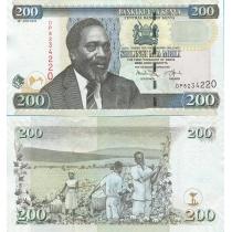 Кения 200 шиллингов 2010 год.