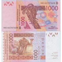 КФА Западная Африка 1000 франков 2003 г.