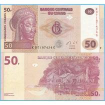 Конго 50 франков 2013 год.