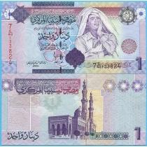 Ливия 1 динар 2009 год.