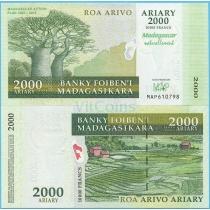 Мадагаскар 2000 ариари 2007 год. Юбилейная