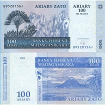 Мадагаскар 100 ариари 2004 год.