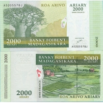 Мадагаскар 2000 ариари 2003 г.