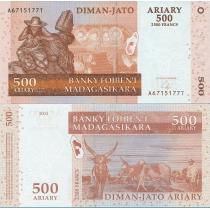 Мадагаскар 500 ариари 2004 год.