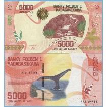 Мадагаскар 5000 ариари 2017 год.