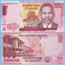 Малави 100 квача 2016 год.