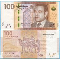 Марокко 100 дирхам 2012 год.