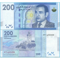 Марокко 200 дирхам 2012 год.