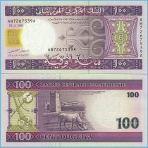 Мавритания 100 угий 2006 г.