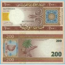 Мавритания 200 угий 2004 г.