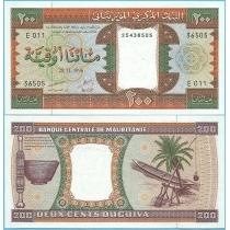 Мавритания 200 угий 1996 год.