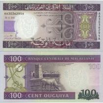 Мавритания 100 угий 2011 г.