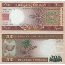 Мавритания 200 угий 2013 г.