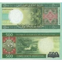 Мавритания 500 угий 2013 г.