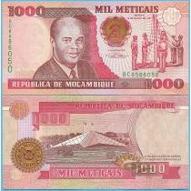 Мозамбик 1000 метикал 1991 год.