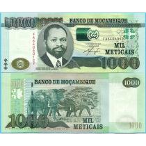 Мозамбик 1000 метикал 2011 год.