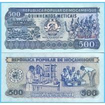 Мозамбик 500 метикал 1989 год.